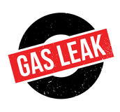 Gas Leak rubber stamp Royalty Free Stock Images