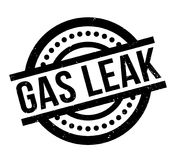 Gas Leak rubber stamp Royalty Free Stock Photo