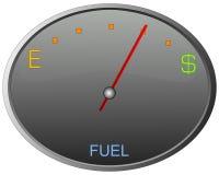 Gas-Lehre Lizenzfreies Stockfoto