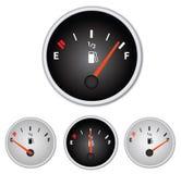 Gas-Lehren Lizenzfreies Stockfoto