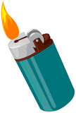 Gas lighters Royalty Free Stock Photos