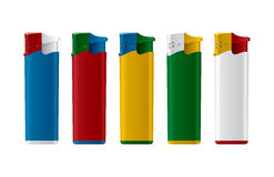 Gas lighters. Royalty Free Stock Images