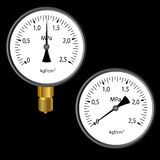 The gas manometer Stock Photography