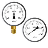 The gas manometer Royalty Free Stock Images