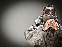 Gas Mask 1 Stock Photos