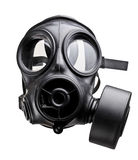 Gas mask. Fine image of classic british army gas mask Royalty Free Stock Images