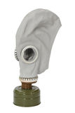 Gas mask. Isolated on a white background Royalty Free Stock Photography