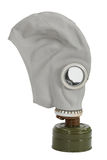 Gas mask. Isolated on a white background Stock Photography