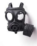 Gas Mask. Object shot of a Gas Mask. Close up, Slight intentional depth of field shot Royalty Free Stock Photography
