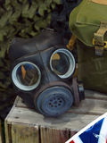 Gas mask Imágenes de archivo libres de regalías