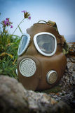 Gas mask Stockbild