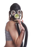 Gas-mask Royalty Free Stock Photos