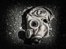 Gas mask. royalty free stock photos