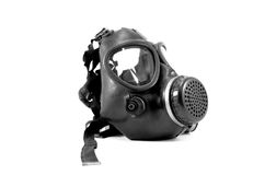 Gas mask. Black and white engrave isolated gas mask Stock Photography