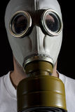 Gas mask danger Stock Photography