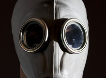Gas mask danger Royalty Free Stock Photo