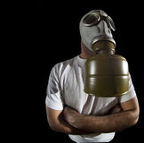 Gas mask danger Royalty Free Stock Photos