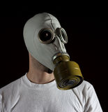 Gas mask danger Stock Image