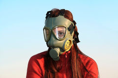 GAS MASK - Ecology and pollution Stock Photography