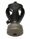 Gas mask isolated. Gas mask - isolated on white Royalty Free Stock Image