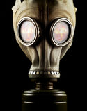 Gas mask isolated Stock Photography
