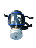 Gas mask isolated with clipping path Royalty Free Stock Photo