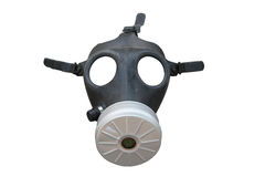 Gas mask isolated on white Stock Image