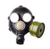 Gas mask isolated. On white Royalty Free Stock Photo