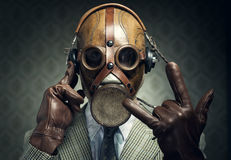Gas mask rock