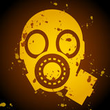 Gas mask sign Stock Photo