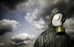 Gas mask Tema de la supervivencia imagen de archivo