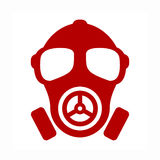 Gas mask vector icon Royalty Free Stock Photo