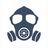 Gas mask vector icon Stock Photo
