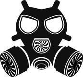 Gas mask vector Royalty Free Stock Photo
