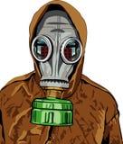Gas mask. Vector illustration of gas mask on white background vector illustration