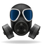 Gas mask vector illustration Stock Image