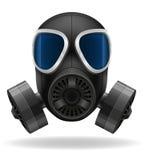 Gas mask vector illustration Stock Image