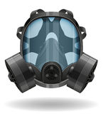 Gas mask vector illustration Stock Photography