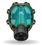 Gas mask vector illustration Stock Photo
