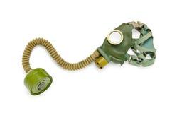 Gas mask  on the white Royalty Free Stock Photos