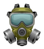 Gas mask. On a white background royalty free illustration
