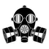 Gas mask on white background. Stock Images