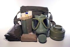 Gas-masker Royalty-vrije Stock Afbeeldingen