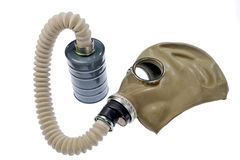 Gas masks Royalty Free Stock Photography