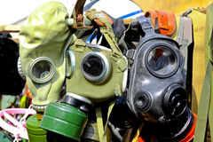 Gas masks Royalty Free Stock Images