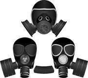 Gas masks Royalty Free Stock Photo