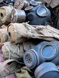 Gas masks Stock Photos