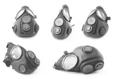 Gas masks Stock Photo