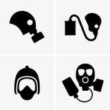 Gas masks Royalty Free Stock Photo