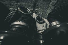 Gas masks 2 Royalty Free Stock Image